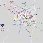 Carte du RER V